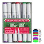 Copic - Sketch Marker Set - Holiday - 12 Piece Set