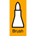 Copic - Copic Marker - Interchangeable Nib - Brush