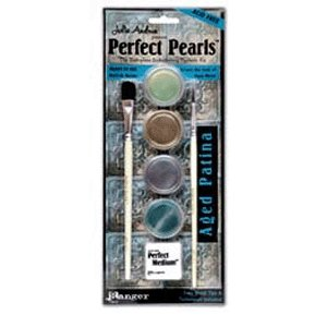 Ranger Ink - Julia Andrus - Perfect Pearls Embellishing Pigment Kit - Aged Patina