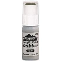 Ranger Ink - Adirondack Acrylic Paint Dabber - Metallics - Silver