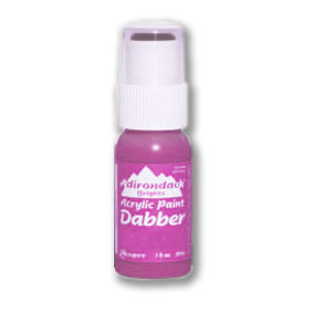 Ranger Ink - Adirondack Acrylic Paint Dabber - Brights - Raspberry