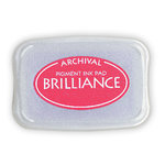 Tsukineko - Brilliance - Archival Pigment Ink Pad - Rocket Red
