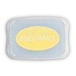 Tsukineko - Brilliance - Archival Pigment Ink Pad - Pearlescent Yellow