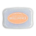Tsukineko - Brilliance - Archival Pigment Ink Pad - Pearlescent Orange