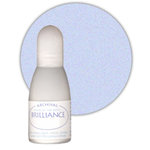 Tsukineko - Brilliance - Archival Pigment Ink Pad - Reinker - Pearlescent Ice Blue