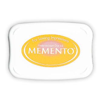 Tsukineko - Memento - Fade Resistant Dye Ink Pad - Cantaloupe