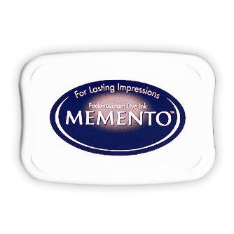 Tsukineko - Memento - Fade Resistant Dye Ink Pad - Paris Dusk