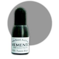 Tsukineko - Memento - Fade Resistant Dye Ink Pad - Reinker - London Fog