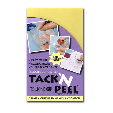 Tsukineko - Tack and Peel Sheet - Reusable Cling Sheet For Use With Acrylic Stamping