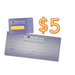 $5 Electronic Gift Certificate