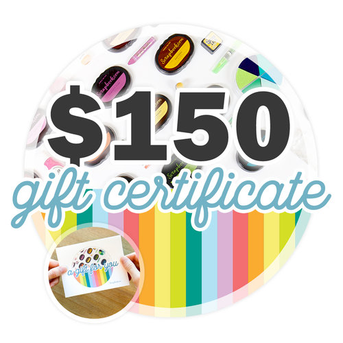 Scrapbook.com - 150 Gift Certificate - Email or Print