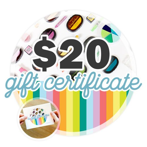 20  Gift Certificate - Email or Print