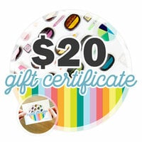 Scrapbook.com - 20 Gift Certificate - Email or Print