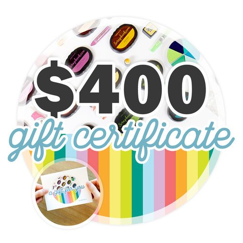 400 Gift Certificate - Email or Print