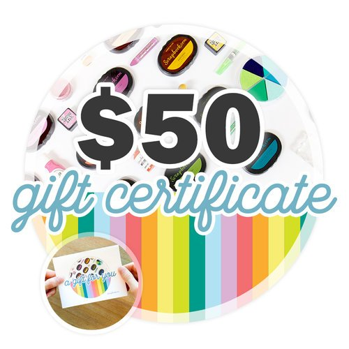 Scrapbook.com - 50 Gift Certificate - Email or Print