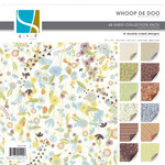 GCD Studios - Whoop De Doo Collection - 12x12 Double Sided Paper Collection Pack - Whoop De Doo - Family , CLEARANCE