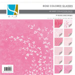 GCD Studios - Rose Colored Glasses Collection - 12x12 Double Sided Paper Collection Pack - Rose Colored Glasses - Baby - Girl