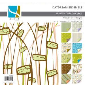 GCD Studios - Daydream Ensemble Collection - 12x12 Double Sided Paper Collection Pack - Daydream Ensemble - Love, CLEARANCE