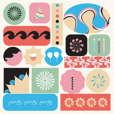 GCD Studios - Carnival Ride Collection - Epoxy Stickers - Carnival Ride - Teen - Family - Birthday, CLEARANCE