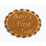 Grapevine Designs and Studio - Wood Shapes - Baby's First Year