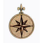 Grapevine Designs and Studio - Chipboard Shapes - Compass