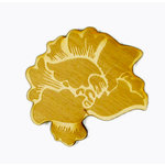Grapevine Designs and Studio - Wood Shapes - Etched Lotus Flower