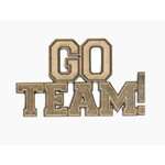 Grapevine Designs and Studio - Chipboard Shapes - Go Team