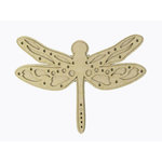 Grapevine Designs and Studio - Chipboard Shapes - Dragon Fly - Medium