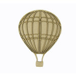 Grapevine Designs and Studio - Chipboard Shapes - Hot Air Balloon - Large