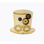 Grapevine Designs and Studio - Wood Shapes - Steampunk Hat and Gears