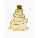 Grapevine Designs and Studio - Wood Shapes - Birthday Cake