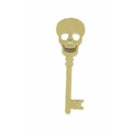 Grapevine Designs and Studio - Halloween - Chipboard Shapes - Skull Key