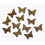 Grapevine Designs and Studio - Chipboard Shapes - Itty Bitty Pieces - Butterfly