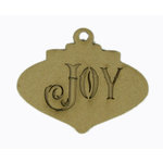 Grapevine Designs and Studio - Christmas - Chipboard Shapes - Joy Ornament