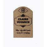 Grapevine Designs and Studio - Halloween - Chipboard Shapes - Clair Voyance