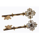 Grapevine Designs and Studio - Chipboard Shapes - Celtic Etched Keys