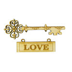 Grapevine Designs and Studio - Wood Shapes - Celtic Love Hanging