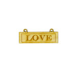 Grapevine Designs and Studio - Wood Shapes - Love Placard
