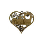 Grapevine Designs and Studio - Chipboard Shapes - Timeless Heart