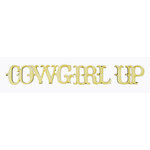 Grapevine Designs and Studio - Wood Shapes - Cowgirl Up