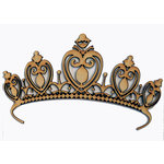 Grapevine Designs and Studio - Wood Shapes - Princess Tiara - Large