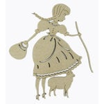 Grapevine Designs and Studio - Chipboard Shapes - Little Bo Peep