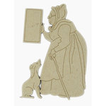 Grapevine Designs and Studio - Chipboard Shapes - Old Mother Hubbard