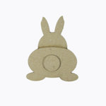 Grapevine Designs and Studio - Chipboard Shapes - Bunny Backside