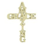 Grapevine Designs and Studio - Chipboard Shapes - Amazing Grace - Large