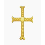 Grapevine Designs and Studio - Wood Shapes - Celtic Etched Cross - Small