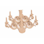 Grapevine Designs and Studio - Chipboard Shapes - Candelabra