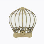 Grapevine Designs and Studio - Chipboard Shapes - Gear Birdcage