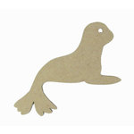 Grapevine Designs and Studio - Chipboard Shapes - Seal