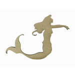 Grapevine Designs and Studio - Chipboard Shapes - Mermaid
